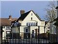 SK4834 : Highfields Schools – School Hall on Wellington Street side by Alan Murray-Rust
