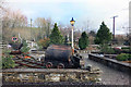 SE0653 : Outside Bolton Abbey Station by Des Blenkinsopp