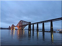 NT1378 : The Forth Bridge by John Allan