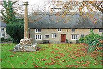 SY5388 : Village Cross, Puncknowle by Derek Harper