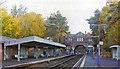 TQ2356 : Tadworth station, 2004 by Ben Brooksbank
