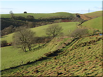 ST0085 : View west over the Taff Ely Ridgeway walk by Gareth James
