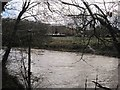 NZ2379 : Plessey Mill Farm and the River Blyth by Les Hull