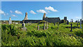 V4364 : Graveyard at Ballinskelligs Priory, County Kerry by Phil Champion