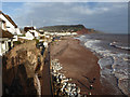 SY1287 : Sidmouth from Connaught Gardens by Chris Allen