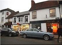 SU7682 : Shops on Hart Street, Henley on Thames by David Howard