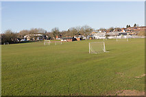SU4828 : Sports Ground, Bar End by Peter Facey