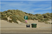 TQ9618 : Camber Sands - meeting point F by N Chadwick