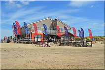 TQ9618 : Camber Sands - cafe by N Chadwick