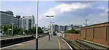 TQ3078 : Vauxhall main station, towards Waterloo on Platform 7/8, 2009 by Ben Brooksbank