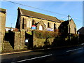 ST0188 : Edwardian St David's Church, High Street, Tonyrefail by Jaggery