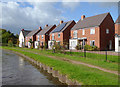 SK0616 : Housing in St Thomas Way near Brereton, Staffordshire by Roger  Kidd