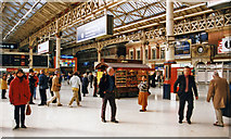 TQ2878 : Victoria (Central) Station concourse, 1999 by Ben Brooksbank