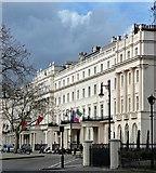 TQ2879 : 38-48 Belgrave Square by Stephen Richards