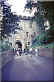 SS9943 : Approaching the Great Gatehouse at Dunster Castle by Jeff Buck