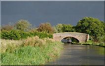SK0220 : Taft Bridge south-east of Little Haywood, Staffordshire by Roger  Kidd