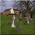 SD5421 : St Andrew's churchyard by Ian Taylor