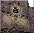 SJ6452 : Roman numerals on 39 Welsh Row, Nantwich by Jaggery