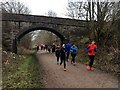 SK2070 : Runners on the Monsal Trail by Graham Hogg
