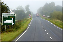 H3122 : A509, Belturbet Road, approaching the Teemore Crossroads by David Dixon