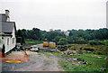 SH5258 : Waunfawr, Welsh Highland Railway station under restoration, 1999 by Ben Brooksbank