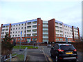 SJ4791 : Approaching Whiston Hospital on Shaw Lane by Gary Rogers