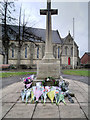 SD7916 : Ramsbottom War Memorial by David Dixon