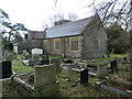 ST0280 : St Anne's Church and graveyard, Talygarn by John Lord