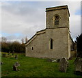 SP2513 : West side of St James the Great, Fulbrook, West Oxfordshire by Jaggery
