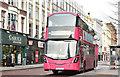 J3374 : Bus, Donegall Place, Belfast (January 2018) by Albert Bridge