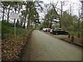 SE0838 : Car park on the St Ives Estate by Stephen Craven