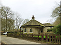 SE0939 : Betty's Lodge,  St Ives Estate by Stephen Craven