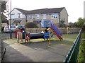 ST7361 : Ridge Green play area by Neil Owen