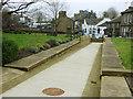 SE1039 : All Saints, Bingley - access ramp by Stephen Craven