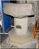 SE1039 : All Saints, Bingley - the ancient font by Stephen Craven