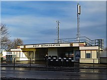 NZ3371 : West Monkseaton Metro Station by Andrew Curtis