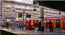 TQ3179 : Waterloo station, across from train at Platform 2 to No. 3/4, 2006 by Ben Brooksbank