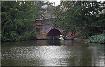 SP0683 : Boating Lake and bridge, Cannon Hill Park, Edgbaston, Birmingham by P L Chadwick