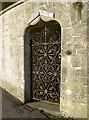 ST7461 : Brewery House gate by Neil Owen