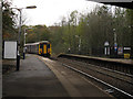 SJ9484 : Train departing Middlewood station by Stephen Craven