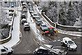 NT4936 : Traffic at Bridge Place, Galashiels : Week 3