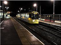 SD8402 : Evening Tram at Crumpsall by David Dixon