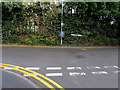 ST1983 : T-junction in Lisvane, Cardiff by Jaggery