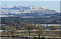 NS4385 : The Campsie Fells from Duncryne Hill by Thomas Nugent