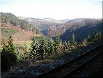 SN7377 : The Vale of Rheidol Railway and Cwm Rheidol by John Lucas