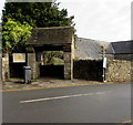 ST1983 : Lychgate entrance to the Parish Church of St Denys, Lisvane, Cardiff by Jaggery