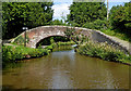 SJ8936 : Turnover Bridge near Meaford in Staffordshire by Roger  Kidd