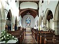 TM2682 : Nave of All Saints Church, Mendham by Helen Steed