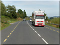 C1705 : HGV on the N13 at Treantaboy by David Dixon