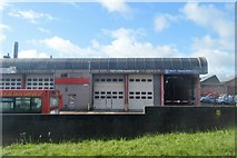 SX4656 : Bus depot by N Chadwick